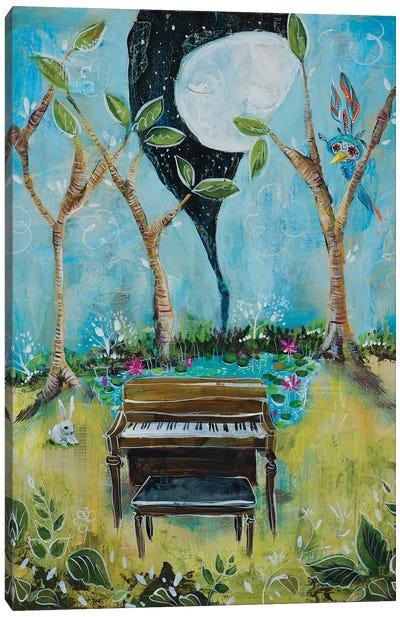 The Piano Canvas Art Print