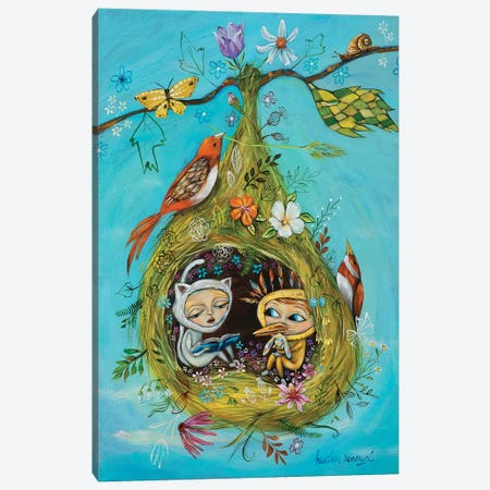 The Story Nest Canvas Print #RNX93} by Heather Renaux Canvas Print