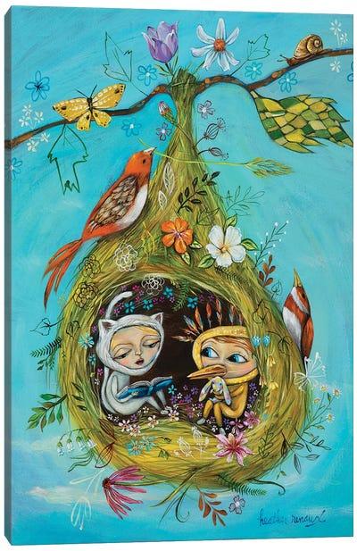 The Story Nest Canvas Art Print