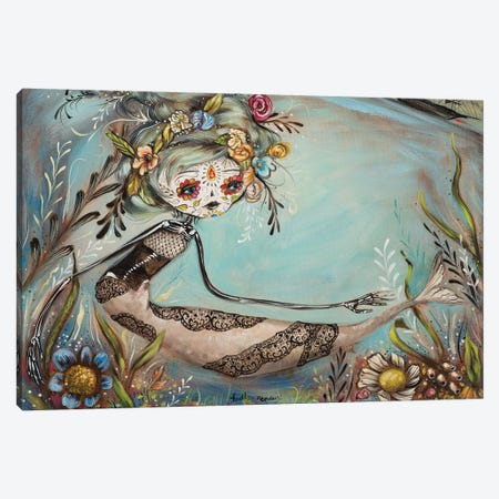 Unrequited Canvas Print #RNX97} by Heather Renaux Canvas Art
