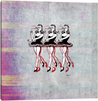 Dance Alone Canvas Art Print