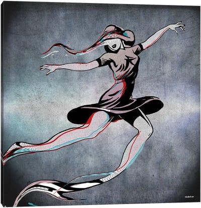 Dance Alone II Canvas Art Print