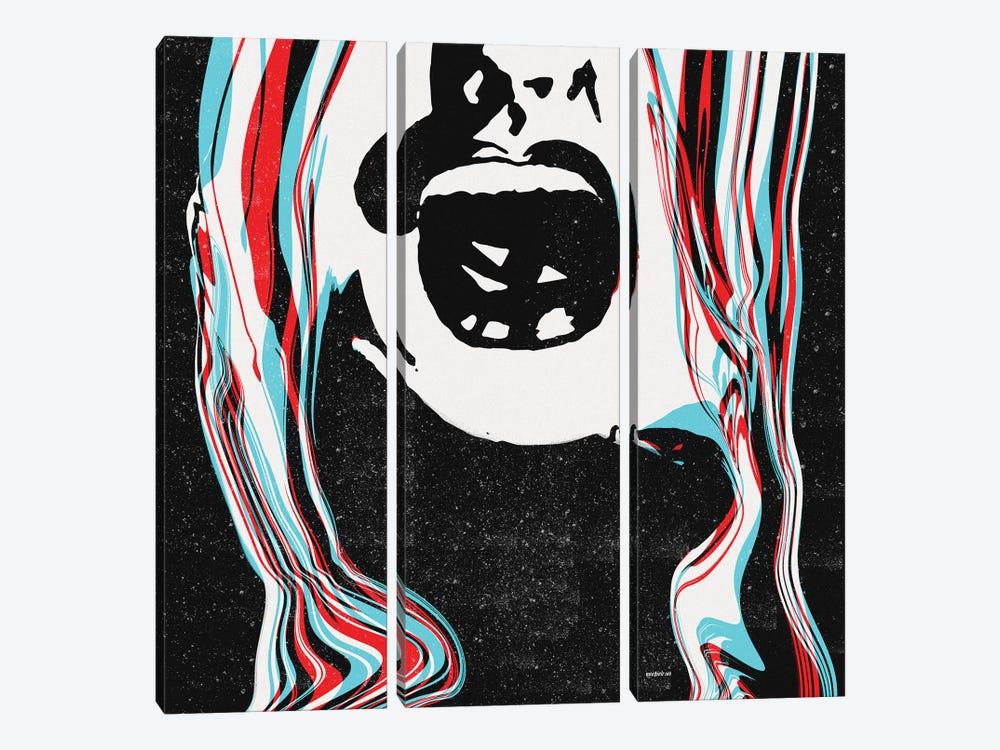 Alone by Michele Rota 3-piece Canvas Artwork