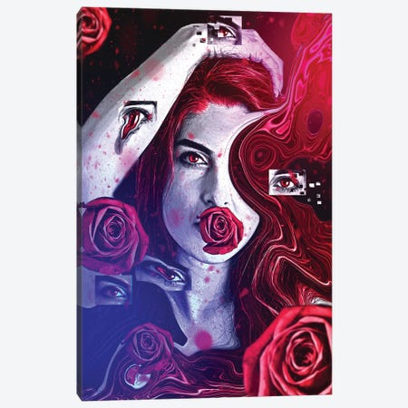 Dreaming In An Empty Room Canvas Print #ROA44} by Michele Rota Art Print