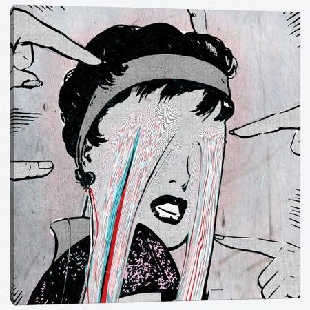 Be Happy Canvas Print #ROA8} by Michele Rota Canvas Art Print