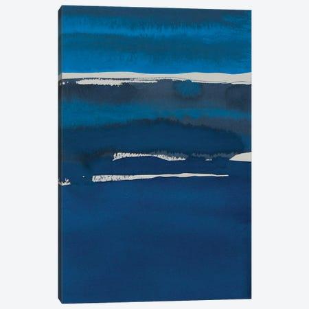 Sapphire Horizon I Canvas Print #ROB103} by Rob Delamater Canvas Art