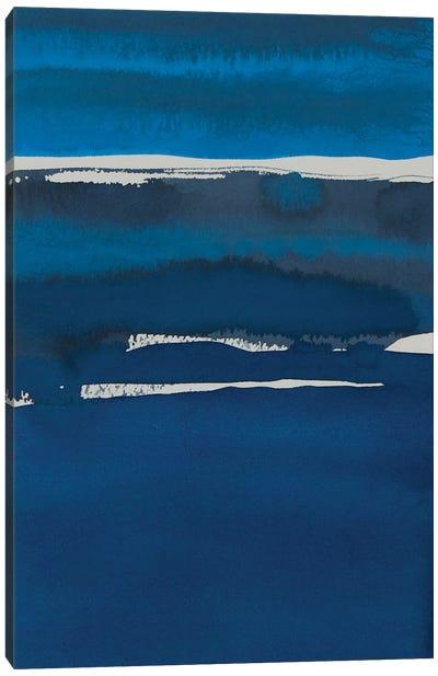 Sapphire Horizon I Canvas Art Print