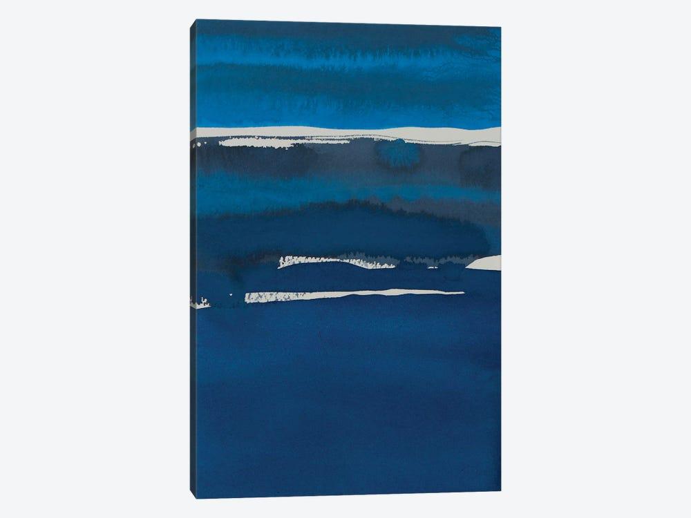Sapphire Horizon I by Rob Delamater 1-piece Canvas Print