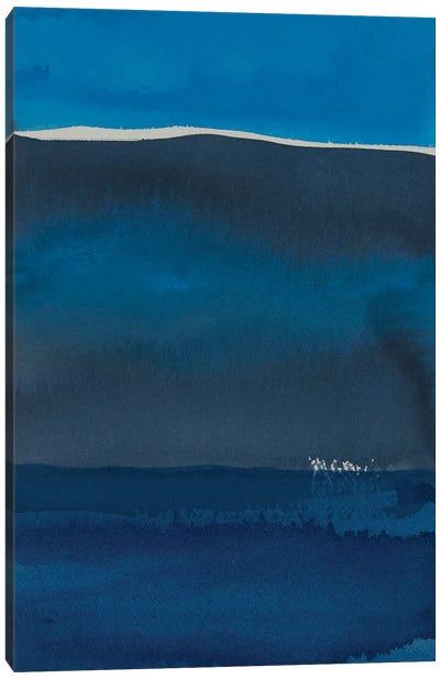 Sapphire Horizon II Canvas Art Print