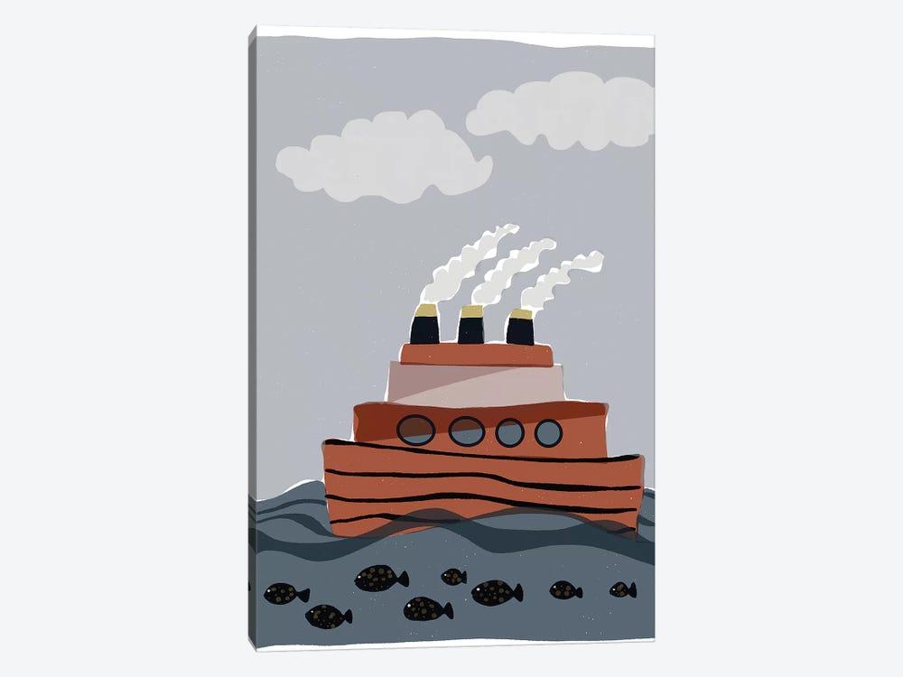 Oceans Ahoy I by Rob Delamater 1-piece Canvas Art Print