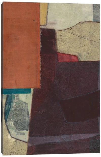 Mid-Century Collage I Canvas Art Print