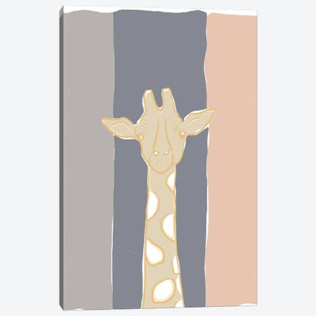 Pastel Zoo II Canvas Print #ROB125} by Rob Delamater Canvas Print