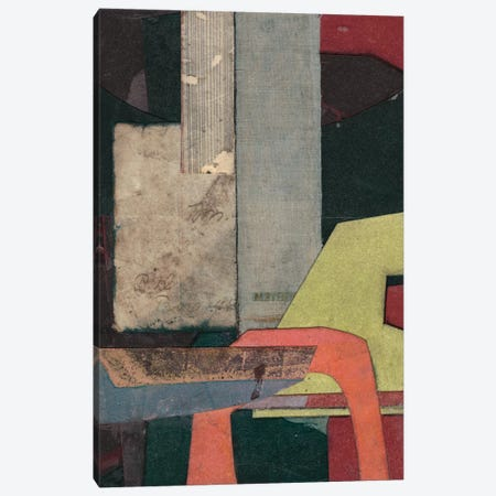 Mid-Century Collage II Canvas Print #ROB12} by Rob Delamater Canvas Art