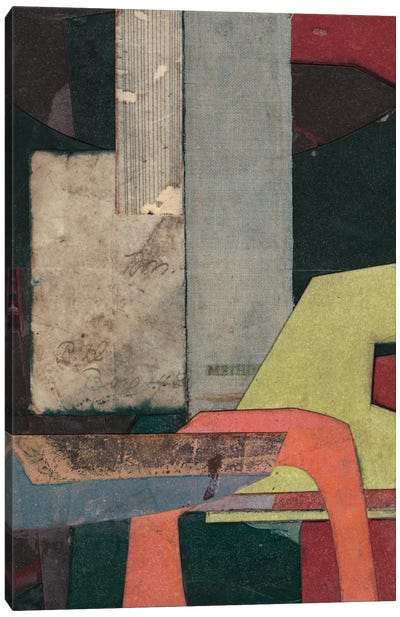 Mid-Century Collage II Canvas Art Print
