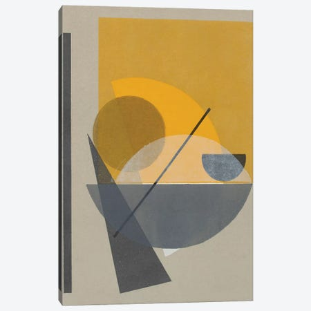 Homage to Bauhaus II Canvas Print #ROB144} by Rob Delamater Canvas Art Print