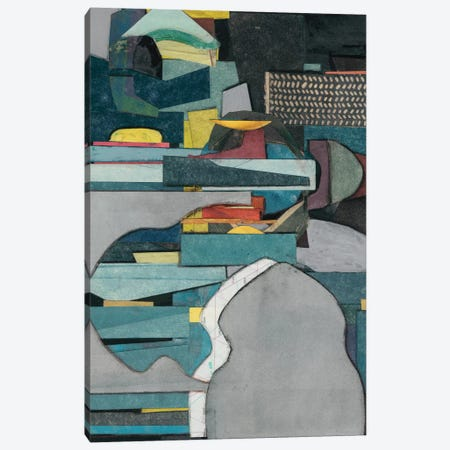 Mid-Century Collage IV Canvas Print #ROB14} by Rob Delamater Art Print