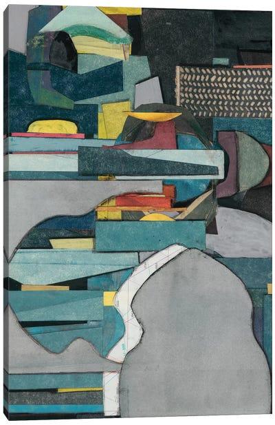 Mid-Century Collage IV Canvas Art Print