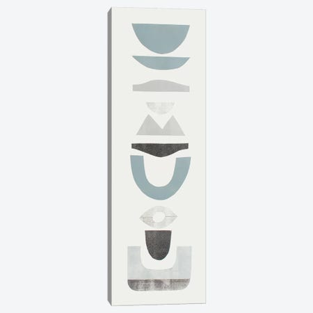 Neutral Totems II Canvas Print #ROB158} by Rob Delamater Canvas Print