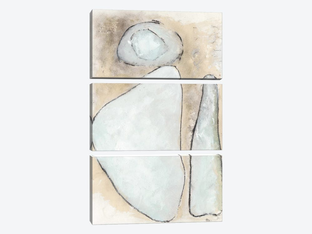 Secret Of The Stones by Rob Delamater 3-piece Canvas Print