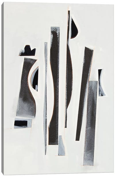 Rhythm Cadence II Canvas Art Print
