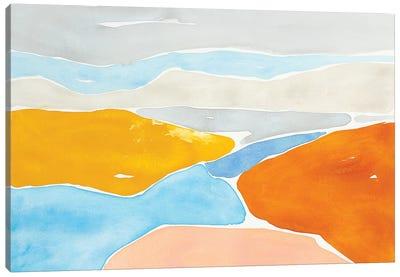 Luminous Coastline I Canvas Art Print