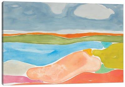 Luminous Coastline II Canvas Art Print