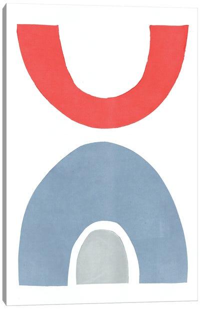 Primary Arches I Canvas Art Print