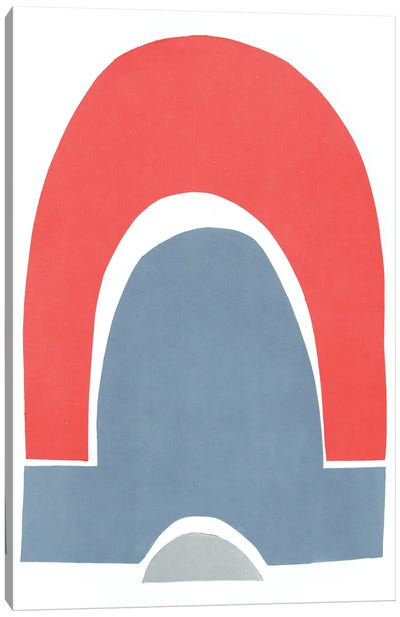 Primary Arches III Canvas Art Print
