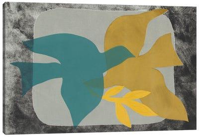 Dove Composition I Canvas Art Print