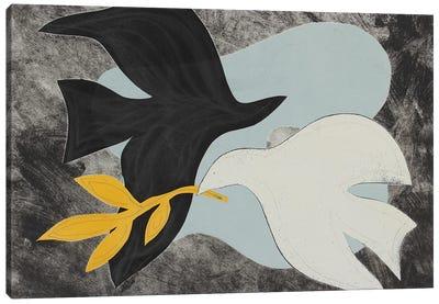 Dove Composition IV Canvas Art Print