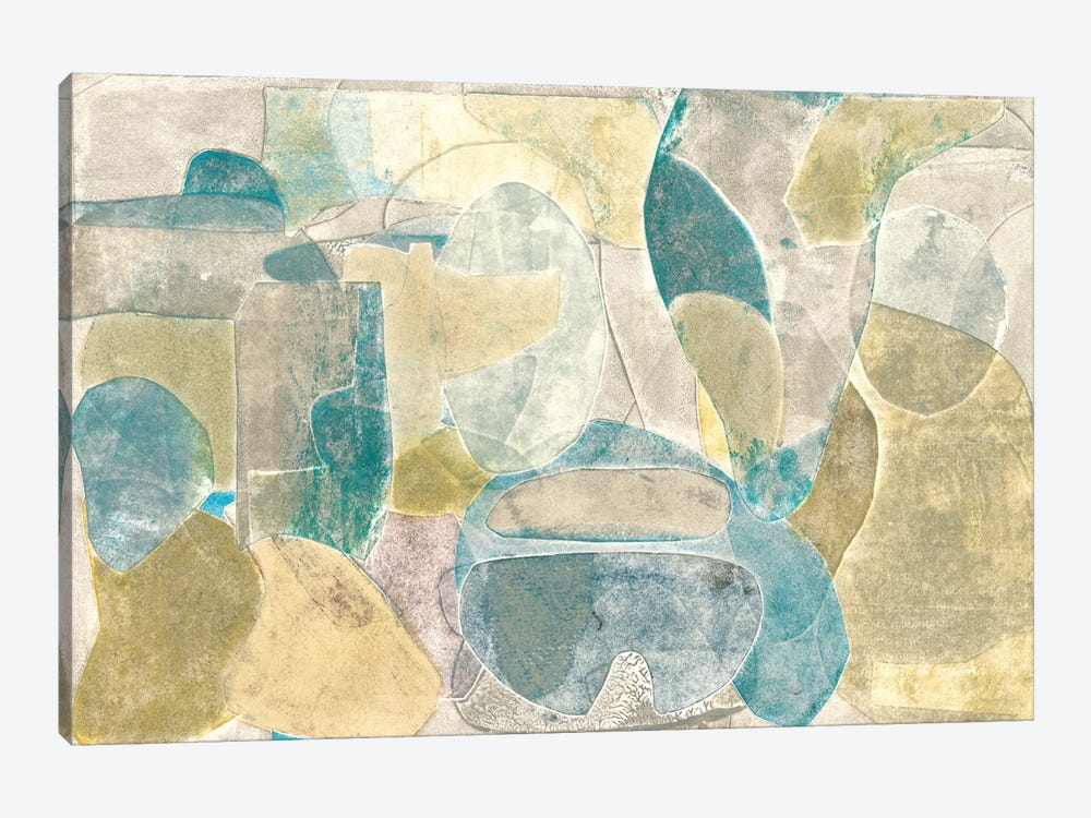 Sea Glass II by Rob Delamater 1-piece Canvas Art Print