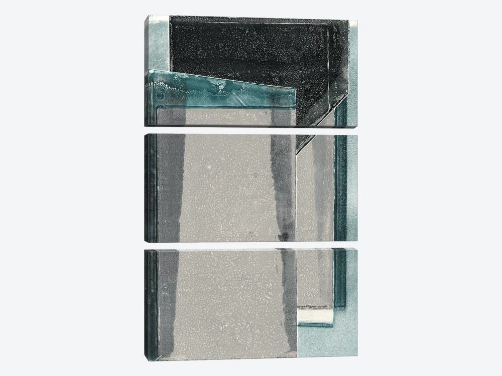 The City Gates II by Rob Delamater 3-piece Canvas Artwork