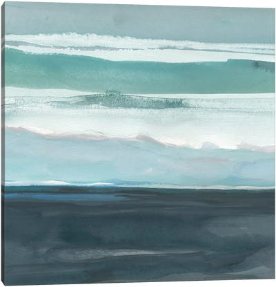 Teal Sea I Canvas Art Print