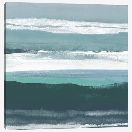 Teal Sea II Canvas Print #ROB39} by Rob Delamater Canvas Artwork
