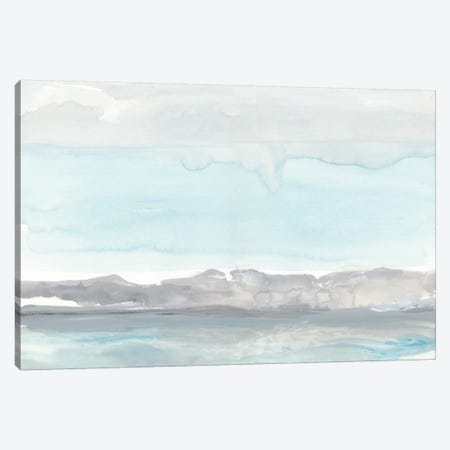 Grey Horizon  3-Piece Canvas #ROB40} by Rob Delamater Canvas Print