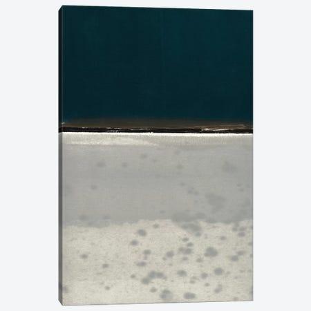 Horizon Indigo Canvas Print #ROB41} by Rob Delamater Canvas Print