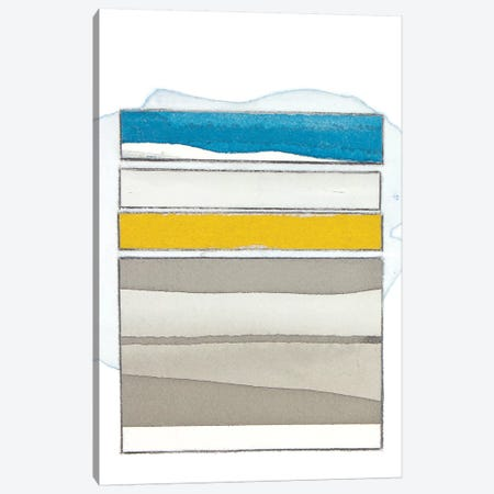 Pacific Horizon I 3-Piece Canvas #ROB46} by Rob Delamater Canvas Wall Art