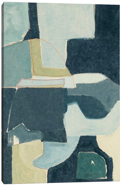 Blue Note III Canvas Art Print