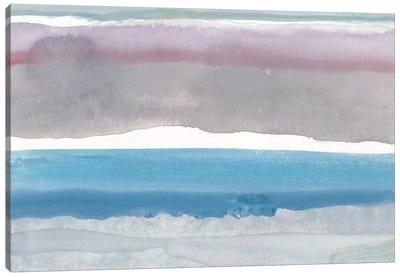 Cerulean Horizon At Sea Ranch Canvas Art Print