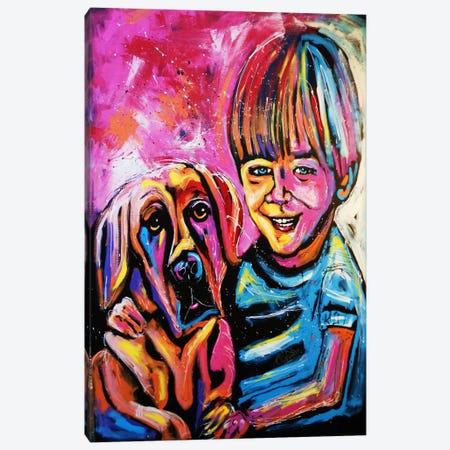 Demaio Fam Canvas Print #ROC12} by Rock Demarco Canvas Art Print