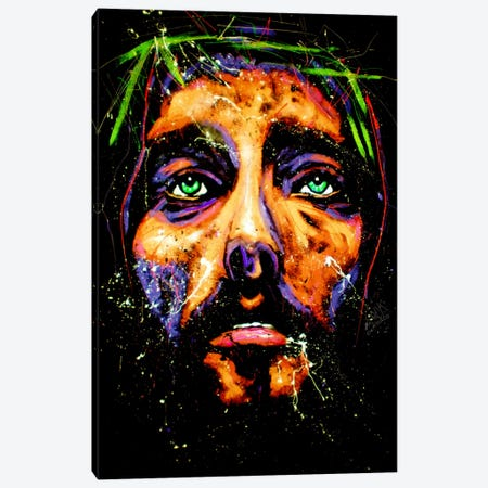 Jesus 001 Canvas Print #ROC25} by Rock Demarco Art Print