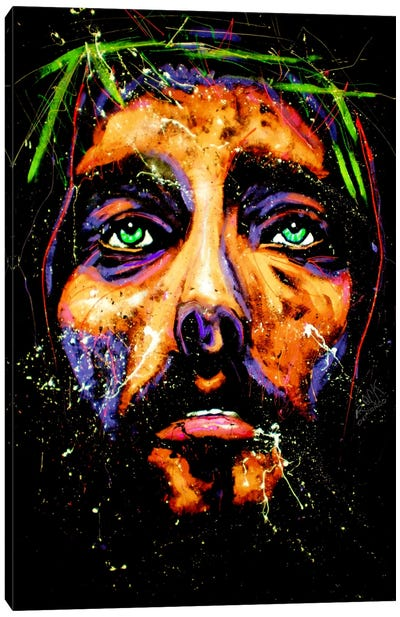Jesus 001 Canvas Art Print
