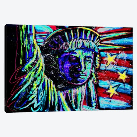 Liberty For Prints 001 Touched with Signature Canvas Print #ROC33a} by Rock Demarco Canvas Artwork