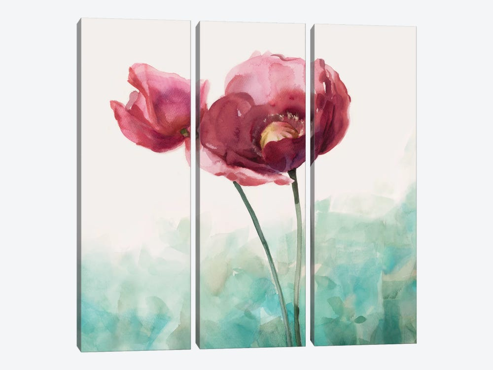 Along The Path II by Rogier Daniels 3-piece Canvas Wall Art