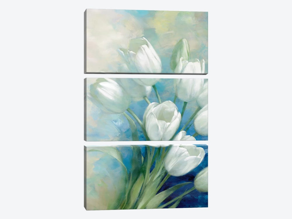 Holland Spring I by Rogier Daniels 3-piece Canvas Art Print