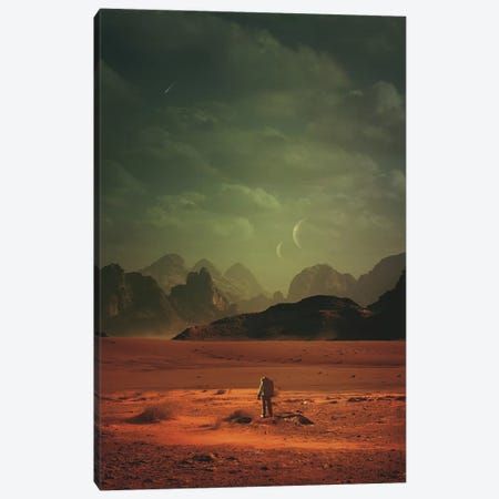 In Order To Understand The World Canvas Print #ROH103} by Rob Hakemo Canvas Art