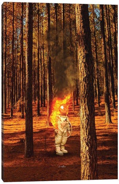 Burn II Canvas Art Print