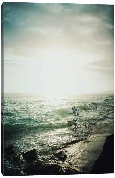 An Ocean Of Silence II Canvas Art Print