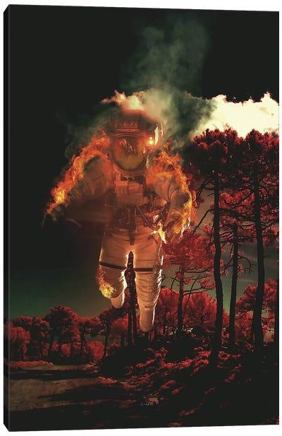 Burn III Canvas Art Print