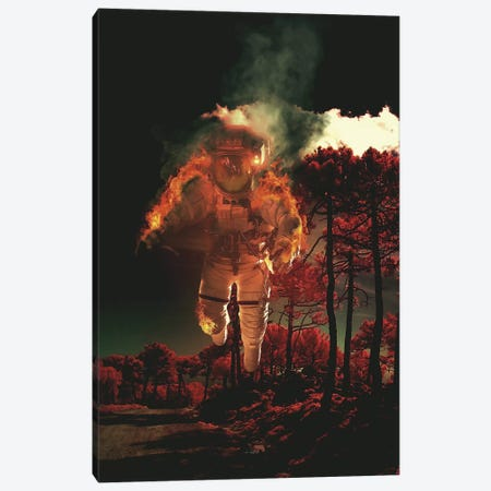 Burn III Canvas Print #ROH125} by Rob Hakemo Canvas Art Print